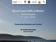 Burren and Cliffs of Moher - Geological Survey of Ireland