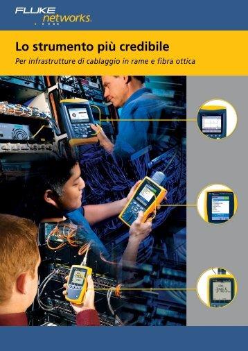 Nuovo catalogo Fluke 2011 (Italiano) - Gfo Europe S.p.A.