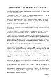 reflexions pour un statut europeen du juge consulaire