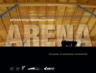 Armstrong-Spallumcheen Arena - Canadian Plywood Association