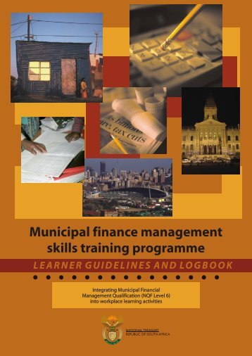 Municipal Finance Management Skills Training Programme - MFMA ...