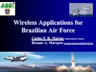 Wireless Applications for Brazilian Air Force - Caneus.org