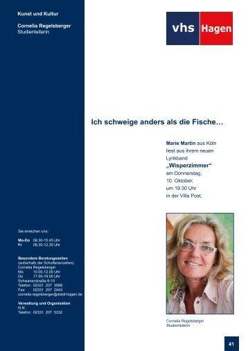 Kunst und Kultur - VHS-Studienreise.de