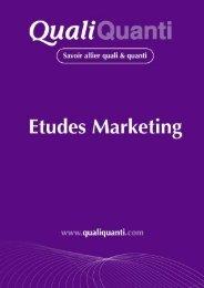 L'enquête quali-quanti - Recherche Marketing & Etudes Internet.