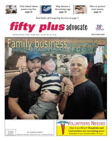 October 2012 - Fifty Plus Advocates