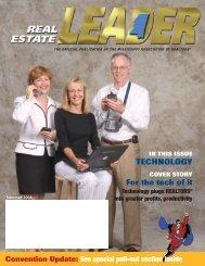 Real Estate LEADER Magazine (Summer 2004) - Mississippi ...