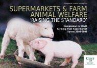 supermarkets & farm animal welfare - Compassion in World Farming