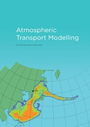Atmospheric Transport Modelling - Comprehensive Nuclear-Test ...