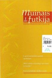011111IU~~lli~m~!1111 - Suomen arkeologinen seura ry.