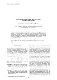 IMPLEMENTATION OF OPTIMAL OPERATION USING OFF ... - NTNU
