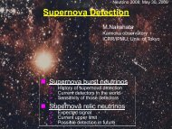 Supernova Detection