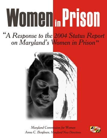 Women in Prison - Maryland Department of Human Resources