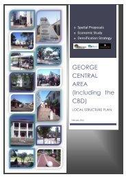 draft CBD structure plan volume i - George Municipality