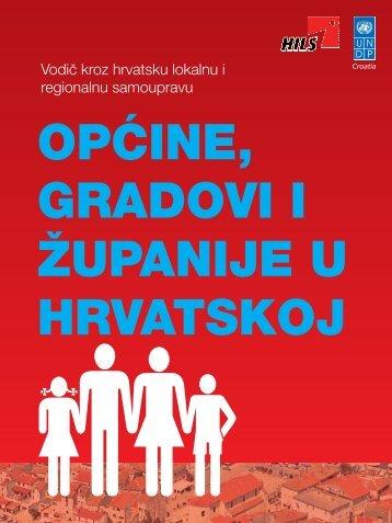 Općine, gradovi i županije u Hrvatskoj - UNDP Croatia