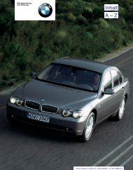Online Version zu Sach-Nr. 01400156536 – © 10/01 BMW AG - 7-Forum