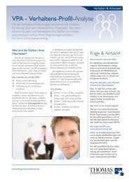 Verhaltens Profil Analyse Vpa Academie Logos Gmbh
