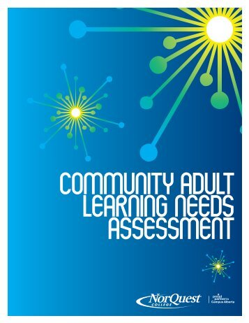 Community Adult Learning Needs Assessment - NorQuest College