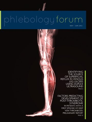 May-June 2012 Issue - American College of Phlebology