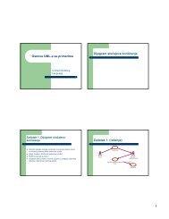 UML primer za vezbe pred poslednji kolokvijum