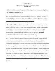 Legislative Proposal - South Florida Regional Planning Council