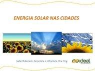 Energia solar nas cidades - América do Sol