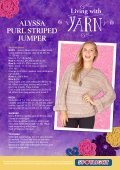 alyssa purl striped jumper - Spotlight Promotions - Page 2