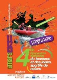programme - Pôle Ressources National Sports de Nature