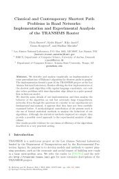 Classical and Contemporary Shortest Path Problems in Road ...