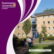 Accommodation Guide 2011 - Roehampton