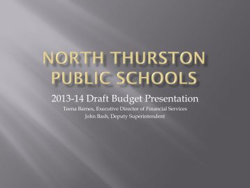 Download the 2013-14 District Budget Presentation to the Board