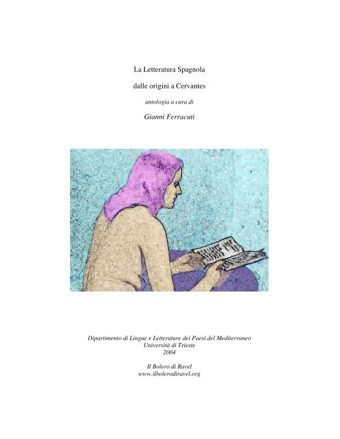 La Letteratura Spagnola Dalle Origini A Cervantes