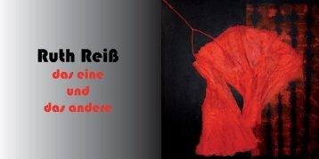 Ruth Reiß - Kunstverein Hockenheim