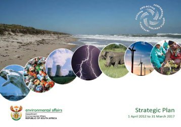 2012 – 2017 strategic planning - Department of Environmental Affairs