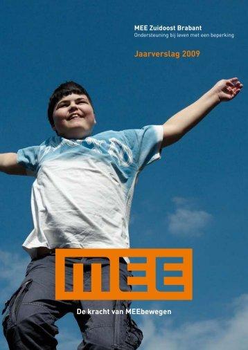 jaarverslag 2009.indd - MEE Zuidoost Brabant