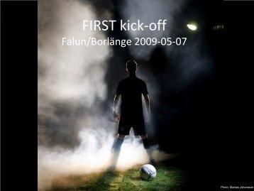 FIRST kick-off - Skogforsk