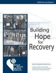 2008 Annual Report - Kitsap Mental Health Services