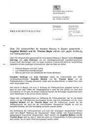 Über 700 Unterschriften an Angelika Weikert und Dr. Thomas Beyer ...