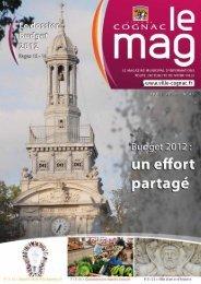 Cognac Mag mars mai 2012 - Ville de Cognac