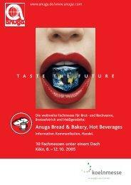 Anuga Bread & Bakery, Hot Beverages - AGRI Press Benelux