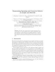 Enumerating Spanning and Connected Subsets in Graphs ... - Rutcor