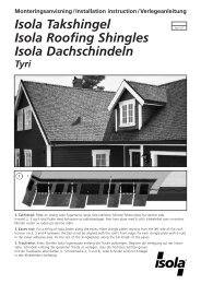 Isola Takshingel Isola Roofing Shingles Isola Dachschindeln Tyri ...