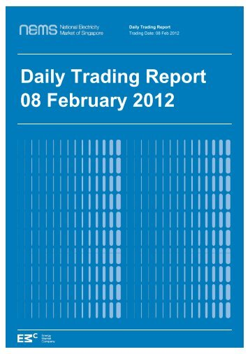Daily Trading Report 08 February 2012 - EMC - Energy Market ...