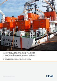 SHIPPING & STORAGE CONTAINERS - Useful and ... - Desmi