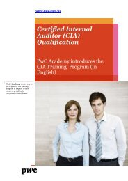 Certified Internal Auditor (CIA) Qualification Certified ... - AmCham