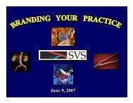 June 9, 2007 June 9, 2007 - VascularWeb