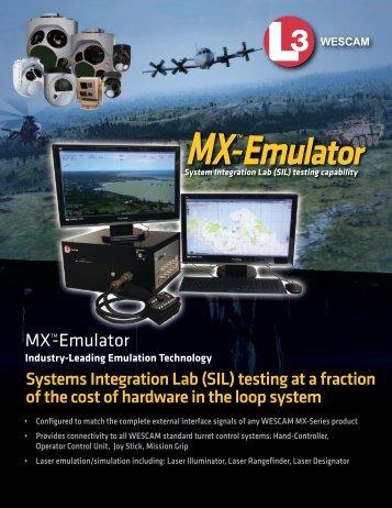 MXTM -Emulator - Wescam