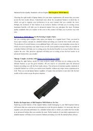 Maintain Perfect Quality Standards with an Original Dell Inspiron N5030 Battery.pdf