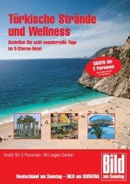 Türkische Strände und Wellness
