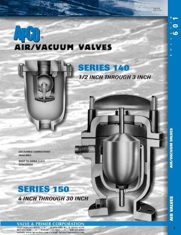 apr APCO 601 - Summit Valve & Controls