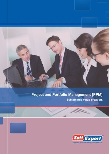 Project and Portfolio Management [PPM] - SoftExpert Software